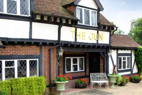 The Gun - Three Course Dinner for two - Save 40%