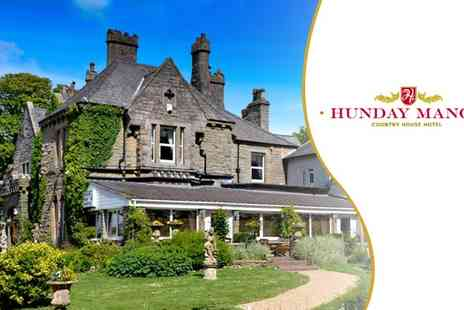 Hunday Manor Country House Hotel - Two Night Stays for two at Lake District - Save 57%