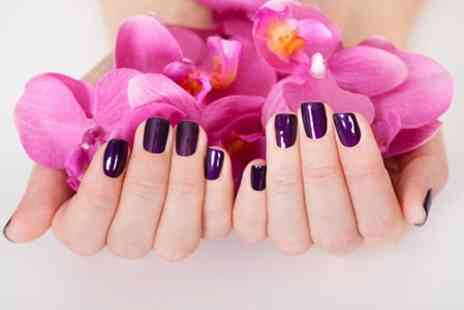 Beyond Beauty - Gel Nails Plus Brow Tint and Shape  - Save 69%