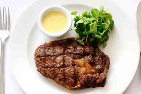 London Steakhouse Company - Three Course Dinner & Cocktails for two - Save 54%