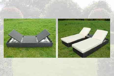 Garden Games - Marbella Sun Lounger Set - Save 58%