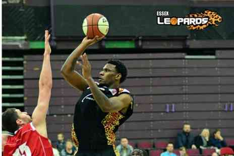 Essex Leopards Basketball -  One Basketball Tickets - Save 38%