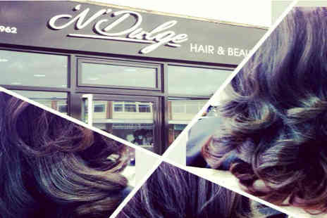 N'Dulge Hair and Beauty - Hair Packages from £19 including Luxury Cut, conditioning treatment and Relaxing Head Massage - Save 50%