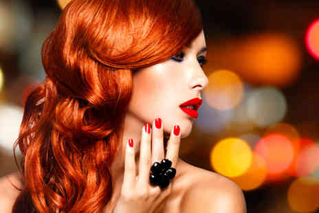 Fabulous Hair and Beauty - Full head of colour, conditioning treatment & blow dry plus an eyebrow wax and tint - Save 67%