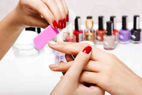 Foxy Beauty - Gel nails manicure or add a pedicure - Save 52%