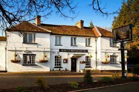 The White Horse Hotel - One Nights For Two With Dinner - Save 53%