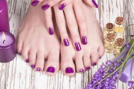 Zeba Hair and Beauty - Luxury Manicure and Pedicure - Save 60%