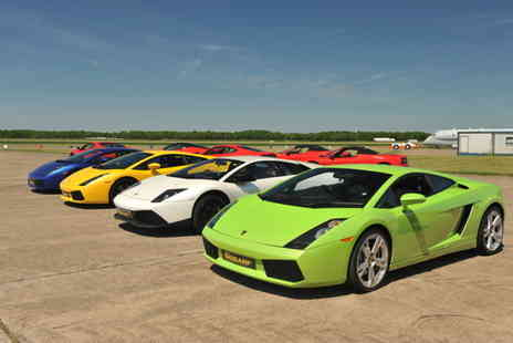 6th Gear Experience - Supercar driving experience - Save 30%