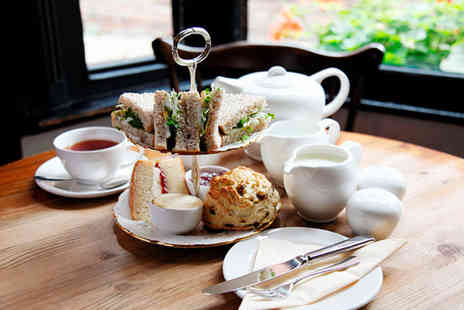 The Stuart Hotel - Afternoon tea for 2 including sandwiches scones cakes and a tea or coffee - Save 65%