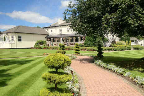 Thornton Hall Hotel - Over night stay for two with breakfast - Save 48%