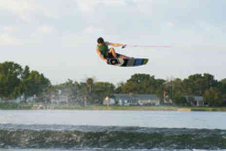 Quayside Wakeboard & Waterski - One Hour Wakeboarding or Waterskiing Session - Save 69%