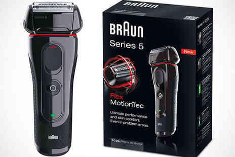 Duracell Direct - Braun 5030S Mens Shaver with Delivery Included - Save 31%