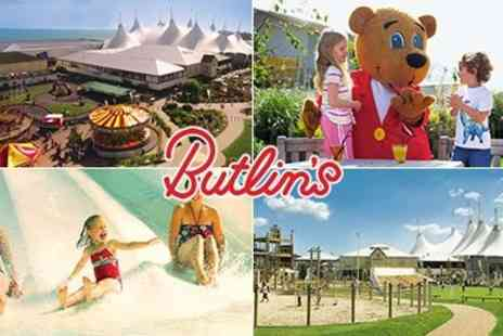 Butlins -  Half Term Off Peak Family Day Pass - Save 50%