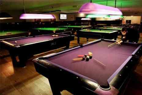 The Ball Room - Two Hours of Pool and 12 Pizza - Save 46%