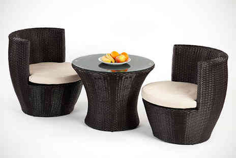 Garden Games - Three Piece Garden Furniture Set - Save 67%