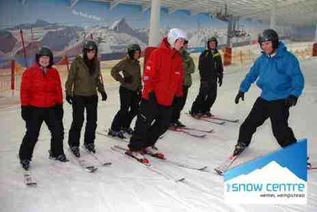 The Snow Centre - One Hour Adult Taster Ski or Snowboard Lesson - Save 54%