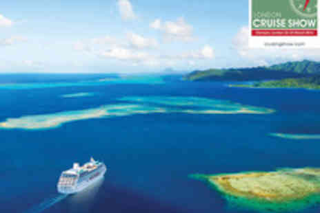 Escape Events - Two Adult Tickets to The London Cruise Show - Save 56%