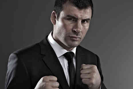 MDG Events - Bronze tickt to An Evening with boxer Joe Calzaghe - Save 53%