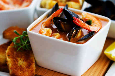 Zennys Restaurant - Seafood Sharing Platter for Two with a Cocktail Each - Save 53%