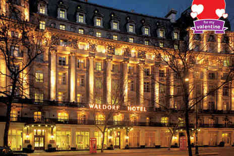 The Waldorf Hilton - Afternoon Tea for Two at The Waldorf Hilton - Save 48%