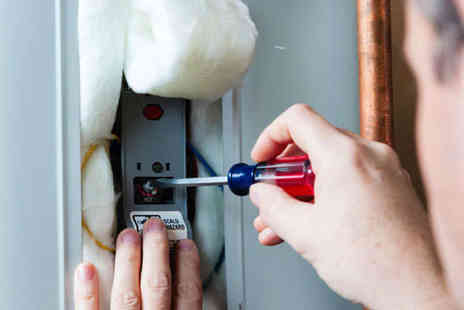 Energy Serv - Full Boiler Service with Heating Efficiency Test and Safety Certificate - Save 65%