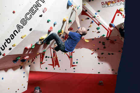 Urban Ascent - Introductory Bouldering Session for One - Save 63%