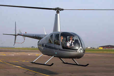 Helicentre Aviation - Romantic helicopter flight and champagne for 2 - Save 33%