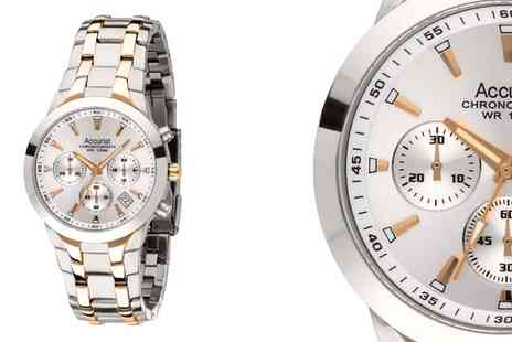 watchwarehouse - Accurist Mens Two Tone Watch - Save 60%