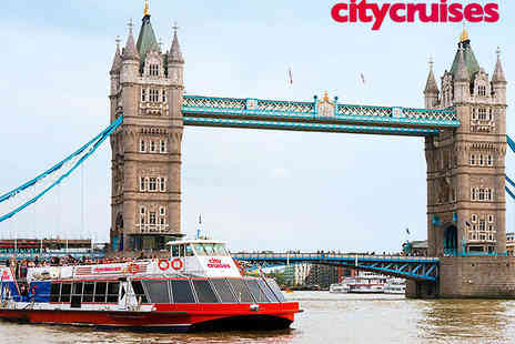 River Red Rover - Hop On Hop Off River Boat Tour for Two Adults - Save 44%