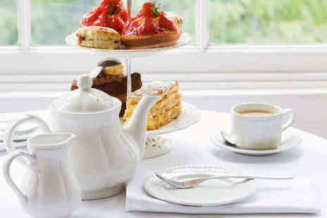 The Angel Hotel - Afternoon Tea for Two with a Glass of Prosecco Each - Save 51%
