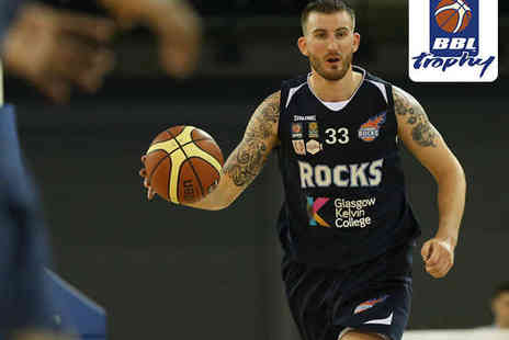 British Basketball League - Child  Band B Ticket to BBL Trophy Final in Glasgow on March 30 - Save 55%