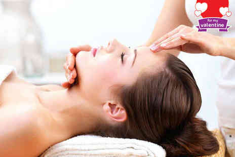 Gifted Hands - Indian Head Massage and Back, Neck and Shoulder Massage with Mini Facial - Save 50%