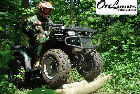 Off Limits - Quad Biking or Segway Experience for Two - Save 61%