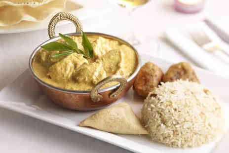 Swatlands Restaurant - Indian meal for 2 including a main course  - Save 52%
