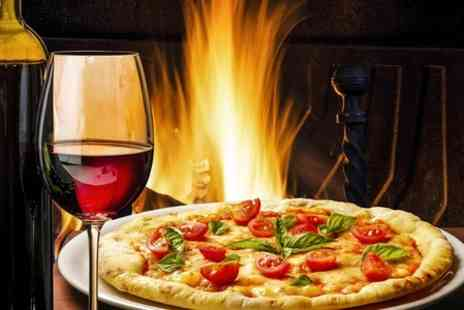 The Osidge Arms - Pizza Starter and Bottle of Wine For Two - Save 50%