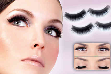Flutterby Glam -  10 pairs of glam eyelashes - Save 53%