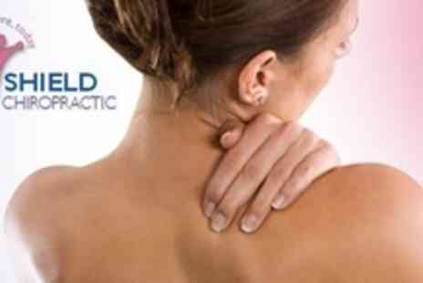 Shield Chiropractic - Three Chiropractic Treatments Plus Spinal Scan and Consultation - Save 86%