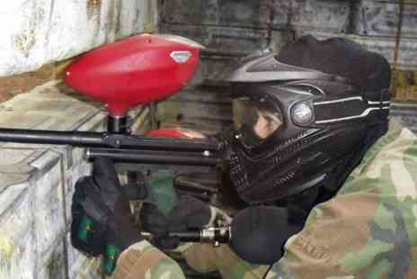 Skirmish Paintball Ipswich - Paintballing For Up to 10 With 100 Balls  - Save 87%