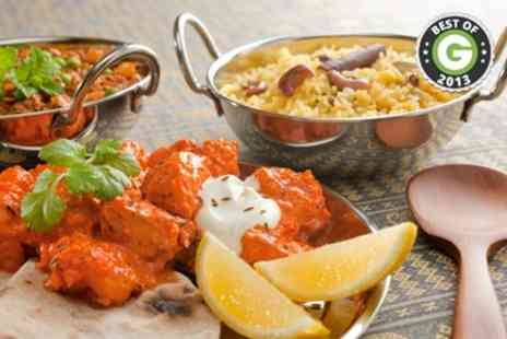 Balti King - Two Course Indian Meal With Sides For Two - Save 66%