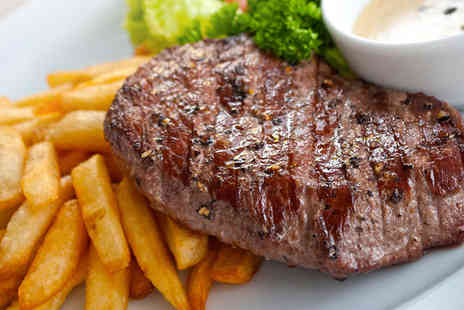 Zennys Restaurant - 10oz Steak Meal for Two with a Cocktail and a Coffee - Save 53%
