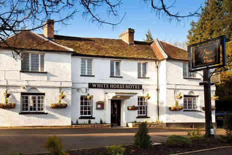 The White Horse Hotel - Charming Hotel in Picturesque Hertfordshire - Save 48%