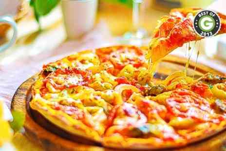 Salernos Italian Restaurant - Takeaway Pizza Pasta or Risotto Plus Drink - Save 70%