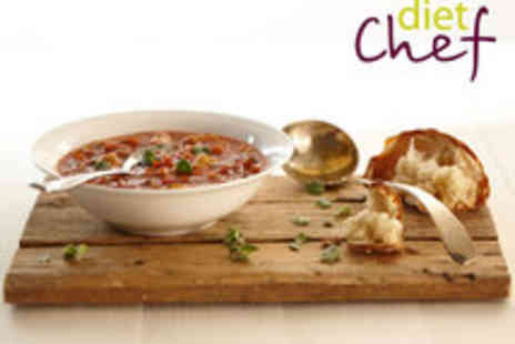 Diet Chef - Voucher for a 20 Day Food Hamper - Save 55%