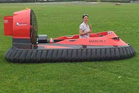CarLimits - 5 lap hovercraft experience - Save 52%