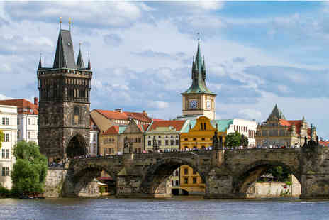 iFly Holidays - Two night Prague break at Hotel Antik City including flights and breakfast - Save 49%