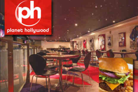 Planet Hollywood - 3 course meal for two at Planet Hollywood only £32 - Save 50%
