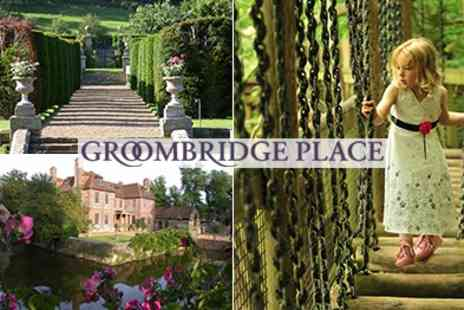 Groombridge Place - Tickets to  A Magical day out for the whole family - Save 53%