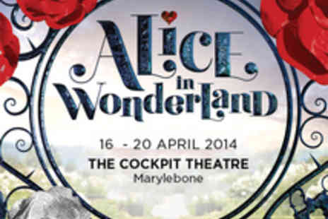 Iris Theatre - Ticket to Alice in Wonderland at The Cockpit Theatre - Save 39%