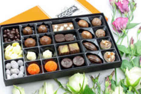 Cocoa Boutique - Voucher for One or Three Luxury Artisan Chocolate Boxes - Save 64%