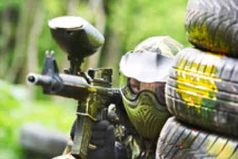 Mayhem South East - Paintballing for Five people with 100 paintballs each - Save 89%